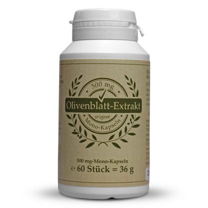Olivenblatt-Extrakt-Kapsel